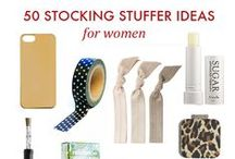 Christmas Stocking Stuffers / Christmas inspiration that includes some of my own favorite stocking stuffers and ideas for what would make a great stocking stuffer!