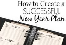 Ring In the New Year / Lots of ideas, recipes, and crafts to celebrate New Years Eve. Plus plans and projects to help you begin the New Year off right!