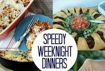 """FAMILY Meal Time / Wondering what do make and plan for those people in your life who insist on being fed...you know, your kids? Here's a collection of dinner inspiration to help your nights go smoother and your """"what's for dinner"""" stress stop."""
