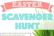 Easter & Spring Fun / collection of ideas, crafts, games, and recipes for a fun-filled Spring season and Easter holiday