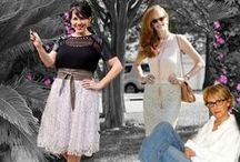 Fashion Over 40: My Refined Style / Women over 40 shouldn't have to follow a set of rules. However, the over-40 woman does develop the confidence to refine her own personal style! This board highlights fashions from the hosts of My Refined Style and other featured fashionistas.