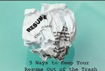 Getting to Know You - Resumes and Cover Letters / The CDC is here to help with all your questions about resumes and cover letters - check out these tips and tricks if to get started!