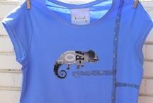 ERISEL T-SHIRT WOMAN / T-shirt erisel.  Handmade product.