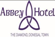 The Abbey Hotel / Some views of The Abbey Hotel Donegal / by The Abbey Hotel Donegal Town