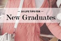 School, Grades, Life / Student loans, leaving college, passing exams. Those tips and tricks that aren't really about networking, interviews or career prep.