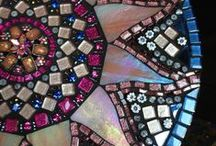 Mosaic tile and stain glasses / by Theresa Barsallo