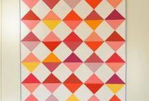 Grafisk / Helt enkle grafiske quilts