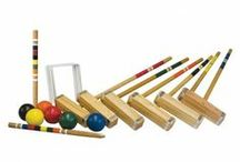 Croquet / Franklin's Classic Croquet Set is the perfect addition to any backyard. Ideal for family parties, company cookouts or just a great way to enjoy a sunny afternoon outside with your friends, Franklin's croquet sets come with everything you need to play. - See more at: http://franklinsports.com/shop
