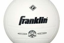 Volleyball / Franklin's Classic Volleyball Equipment is the perfect complement to a beautiful sunny day. Set up this classic volleyball net at the lake, in your backyard or bring it along to a family picnic or company barbecue. A friendly game of volleyball is a great way to bond with co-workers or enjoy a relaxing day with family and friends. - See more at: http://franklinsports.com/shop / by Franklin Sports