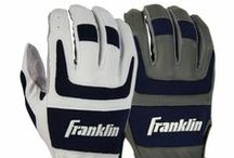 """Shok-Sorb Pro Home & Away / Includes one set of home gloves and one set of away gloves. Shok-Sorb padding system absorbs impact and eliminates the """"sting."""" PITTARDS DIGITAL sheepskin leather maintains softness and tactility in all conditions. - See more at: http://franklinsports.com/shop/shok-sorb-home-away-batting-glove"""