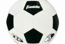 Soccer Balls / Franklin's soccer balls are created to be durable and have long lasting air retention bladders to ensure a quality experience for skill building or just fun play. See more at: http://franklinsports.com/shop / by Franklin Sports