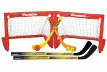 NHL® Mini Hockey / Your kids will play for hours and get some practice time in with Franklin's NHL® Mini Hockey gear. See more at: http://franklinsports.com/shop