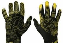 Football Gloves / Franklin's football gloves are designed to be lightweight and comfortable yet secure. Their high tack rubber palms make the ball easy to catch and their vibrant design enhances on field visuals. See more at: http://franklinsports.com/shop