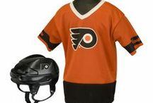 NHL® Fan Team Gear / Franklin's NHL® Liscensed Team Gear features both NHL® Deluxe Uniform Sets and NHL® Helmet and Jersey Sets all with officical team logos and colors. Available for all NHL® teams. See more at: http://franklinsports.com/shop  / by Franklin Sports