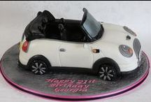 Convertible Car Cakes / Lets turn some of the convertibles into yummy cakes!