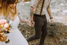 Tying the knot / Inspirational photos related to wedding!