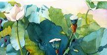 • Illustrations & Paintings •