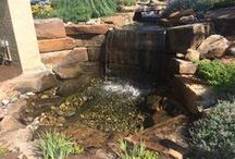 Water Gardens / Water features for tranquil outdoor settings.