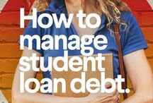 Student Loans / Wondering how to go about refinancing your student loan? Find more on SoFi.com! / by SoFi