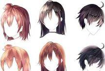 hair concept art