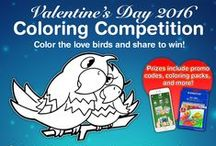 Quiver AR - Valentine's Day 2016 Coloring Competition / Check out the entries for the Quiver Valentine's Day Coloring Competition! To enter get the official coloring sheet from www.quivervision.com and post a screenshot along with the #quivervalentine hashtag on Twitter or Instagram!