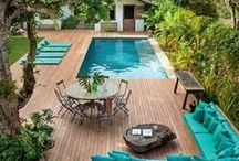 Terrasse, Jardin, Piscine