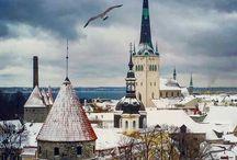Tallinn December sightseeing