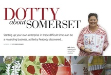 Dots and Spots / Dots and Spots feature in Somerset Life Magazine Dec 2012 issue