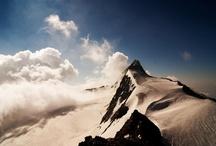 Die Tiroler Bergwelt...