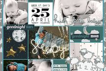 Digi Scrap Inspiration / Digi scrap layouts, templates, titles, and other things that inspire my scrapping / by Amber Stanifer