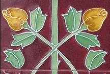 Mosaicos / Azulejos / Tiles / モザイク。タイル。 / Una de materia hermosa del mundo.