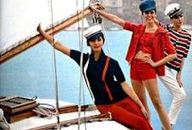 Naughty Nautical / Everything fabulously 50's nautical with red white and blue and anchors galore