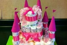 Diaper Cakes and Such / by Kathy Cleveland
