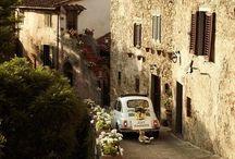 Italian Road Trip / Dreaming of road trip in Italy...