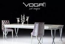 Voga Mobilya Yemek Odaları / Voga Mobilya'nın en yeni yemek odası koleksiyonlarını takip edebilirsiniz. | You may find latest dining room collections of Voga Mobilya in this board.