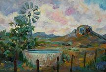 Karoo Faerie Painting / Painting & Illustrstion