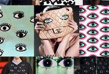 Fabric Pattern Inspiration / Finding Inspiration for conspicuous, modern fabric pattern. // Inspirationssuche für auffällige und moderne Stoffmuster