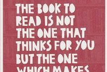 Book Quotes / We love books and quotes about books!!