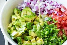 saláták, öntetek,kenők