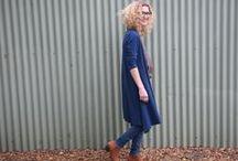 Megan Longline Cardigan Pattern / Megan Longline Cardigan Pattern by Tessuti Fabrics