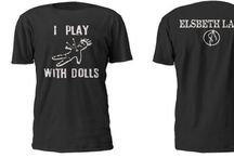 Halloween Tshirts / ElsBeth Lair original T shirt line with new additions weekly