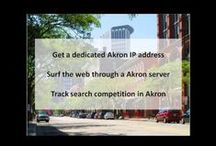 Akron OH Private Proxies / Akron is the fifth-largest city in the U.S. state of Ohio and is the county seat of Summit County. It is in the Great Lakes region approximately 39 miles south of Lake Erie along the Little Cuyahoga River.