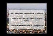 Albuquerque NM Private Proxies / Albuquerque, New Mexico's largest city, sits in the high desert.