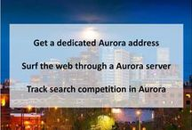 Aurora CO Private Proxies / Aurora is a Home Rule Municipality in the U.S. state of Colorado, spanning Arapahoe and Adams counties, with the extreme southeastern portion of the city extending into Douglas County.