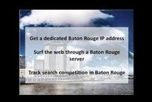 Baton Rouge LA Private Proxies / Baton Rouge is the capital of the U.S. state of Louisiana and its second-largest city. The seat of East Baton Rouge Parish, the city is located on the eastern bank of the Mississippi River.