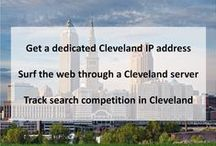 Cleveland OH Private Proxies / Visit: https://www.proxykey.com/oh-proxies. Cleveland is a major city in Ohio on the shores of Lake Erie. Landmarks dating to its days as a turn-of-the-20th-century manufacturing center include the Steamship William G. Mather, now part of the Great Lakes Science Center.