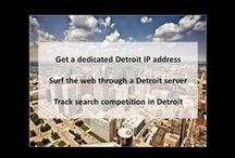 Detroit MI Private Proxies / Detroit is the largest city in the midwestern state of Michigan. Near Downtown, the neoclassical Detroit Institute of Arts is famed for Diego Rivera murals inspired by the city's long-standing ties to the auto industry.