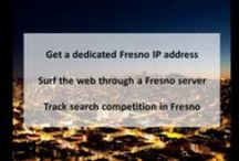 Fresno CA Private Proxies / Fresno, the county seat of Fresno County, is a city in the U.S. state of California. As of 2015, the city's population was 520,159, making it the fifth largest city in California.