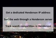 Henderson NV Private Proxies / Henderson, officially the City of Henderson, is a city in Clark County, Nevada, United States. It is the second largest city in Nevada, after Las Vegas, with an estimated population of 270,811 in 2013.