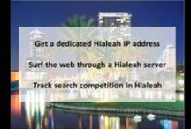 Hialeah FL Private Proxies / Hialeah is a city in Dade County, Florida, United States. As of the 2010 census, Hialeah has a population of 224,669. Hialeah is the sixth-largest city in the state, and is a major city within the South Florida metropolitan area.